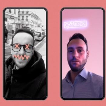 Camden lance ses filtres Instagram en réalité augmentée