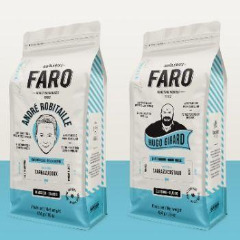 Gaspard Agence signe le plus récent visuel du café de Brûleries Faro