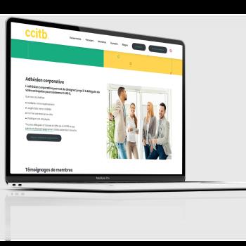 Un nouveau site web dynamique à l'image de la CCITB
