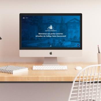 Une expérience numérique pour les portes ouvertes du Collège Saint-Sacrement