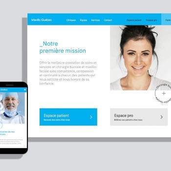Maxillo Québec revisite son site web