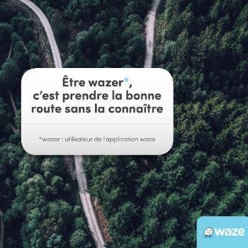 Une nouvelle campagne de Waze réalisée par des créatifs parisiens