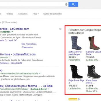 Les campagnes «Shopping» sur Google AdWords, indispensables pour les commerçants électroniques