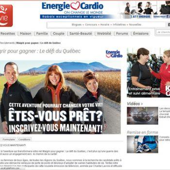 Énergie Cardio et Canal Vie feront bouger le Québec lors d'un partenariat développé par Bell Média Mix