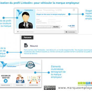 Maximisez Linkedin pour diffuser votre marque employeur