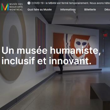 Un site web repensé pour le Musée des beaux-arts de Montréal